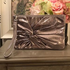 Rose gold Express wristlet